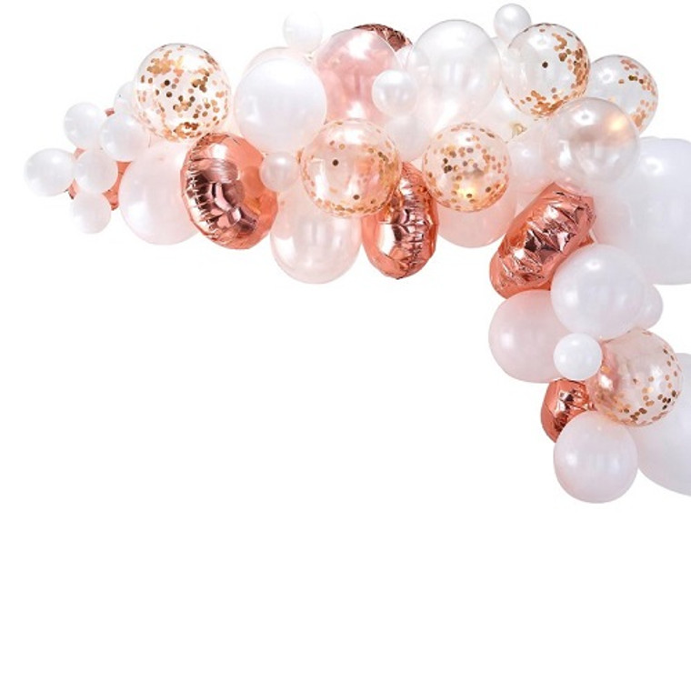Ginger Ray Rose Gold Balloon Arch