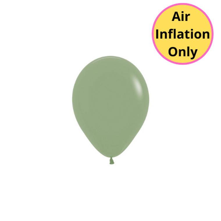 12cm Latex Balloons Matte Eucalyptus Each