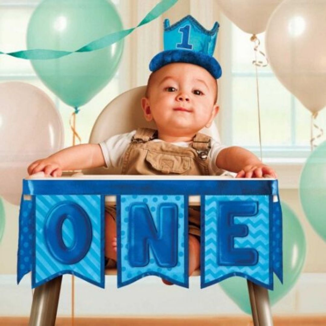 1st Birthday Boy Party Supplies