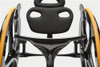 Carbon Black Wheelchair Seat and Back Rest
