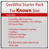 GeeWhiz IMD External Male Catheter - Starter Pack for KNOWN Size