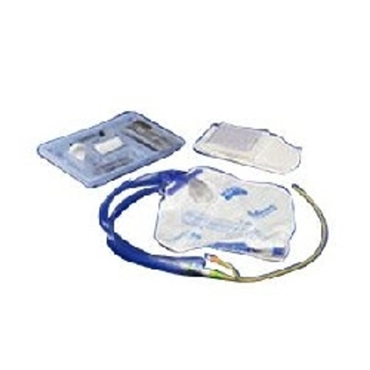 Kenguard Foley Catheterization Trays with Silicone Coated Latex Foley Catheter