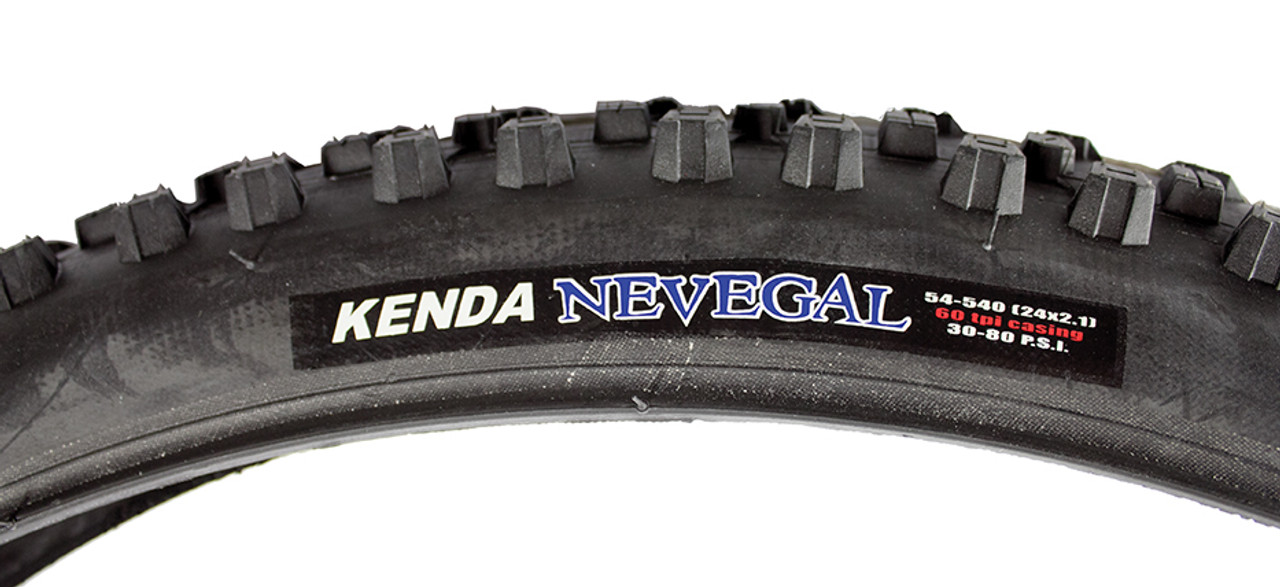 Kenda -  Nevegal Black Knobby All-Terrain Wheelchair Tires
