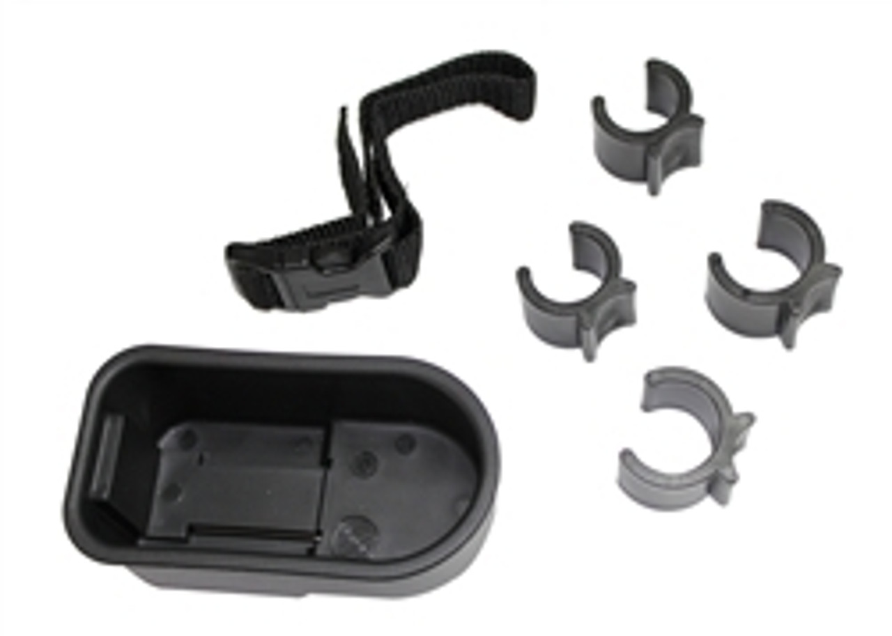 CRUTCH OR CANE HOLDER For Wheelchairs Fits Most Chairs with Accessories