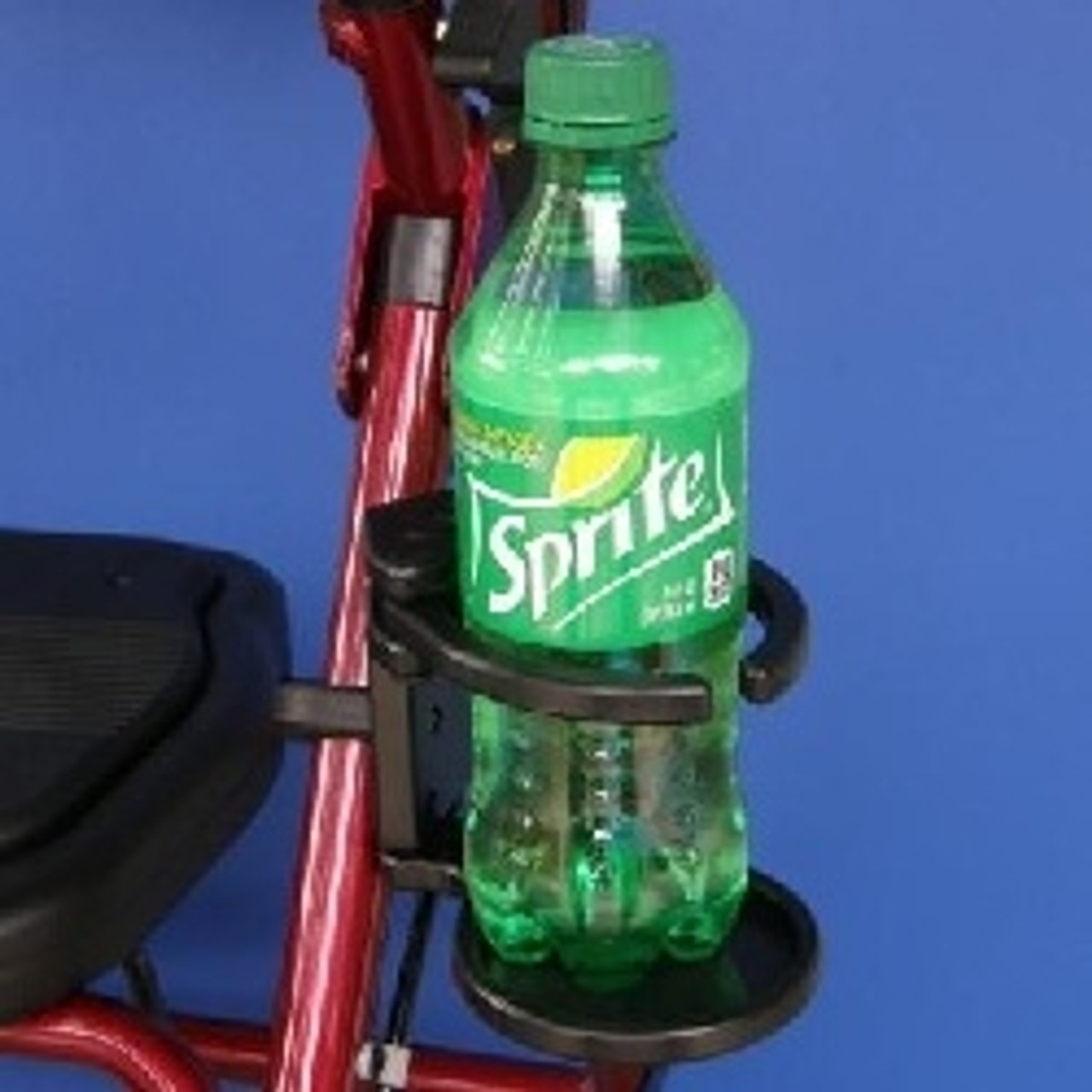 """1"""" - SnapIt! Adjustable Foldaway Drink Holder for Wheelchairs"""