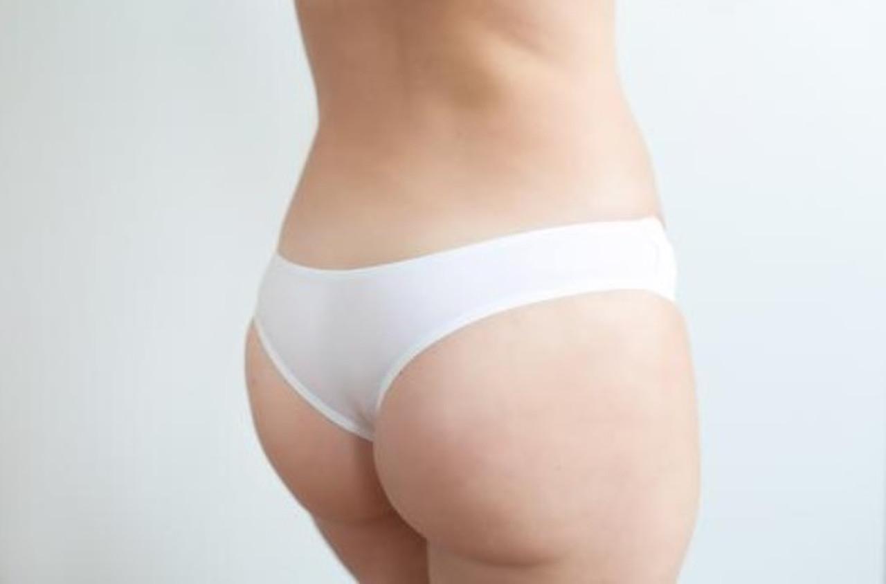 Tanga Panty - White