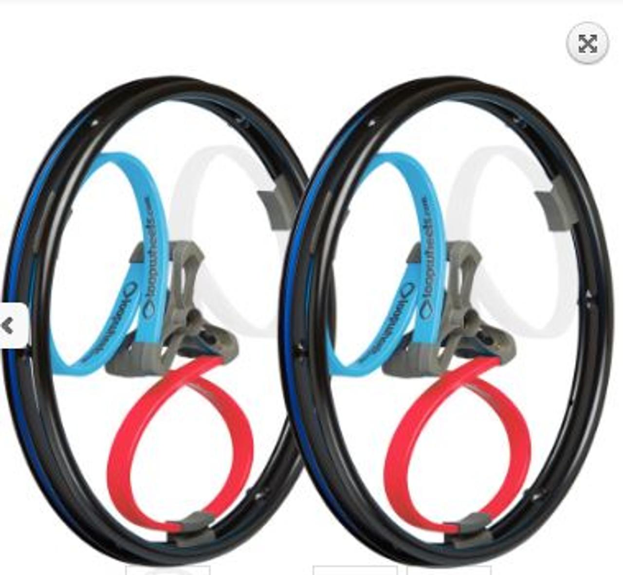 Multi-Coloured Loopwheels Classics (Pair)