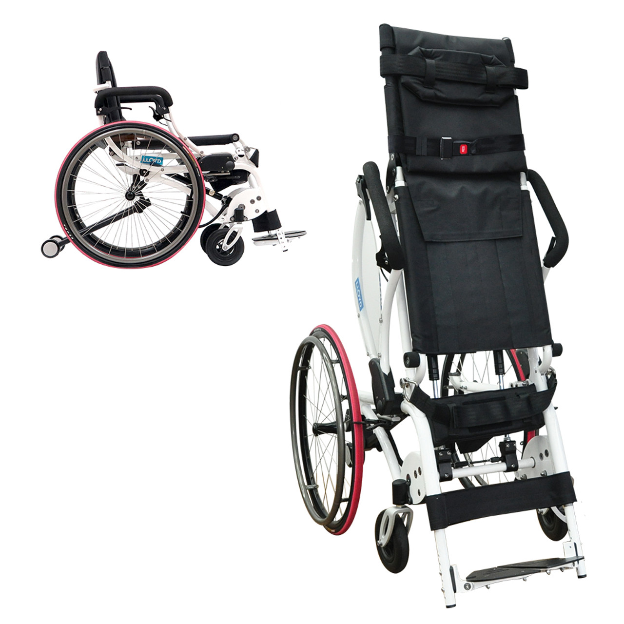 Leo II (Lightest Standing Wheelchair)