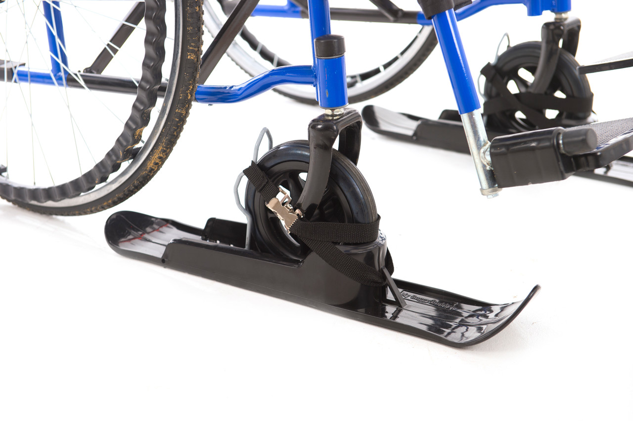 Slick Skis - The Affordable Caster Attachment for Snow and Sand