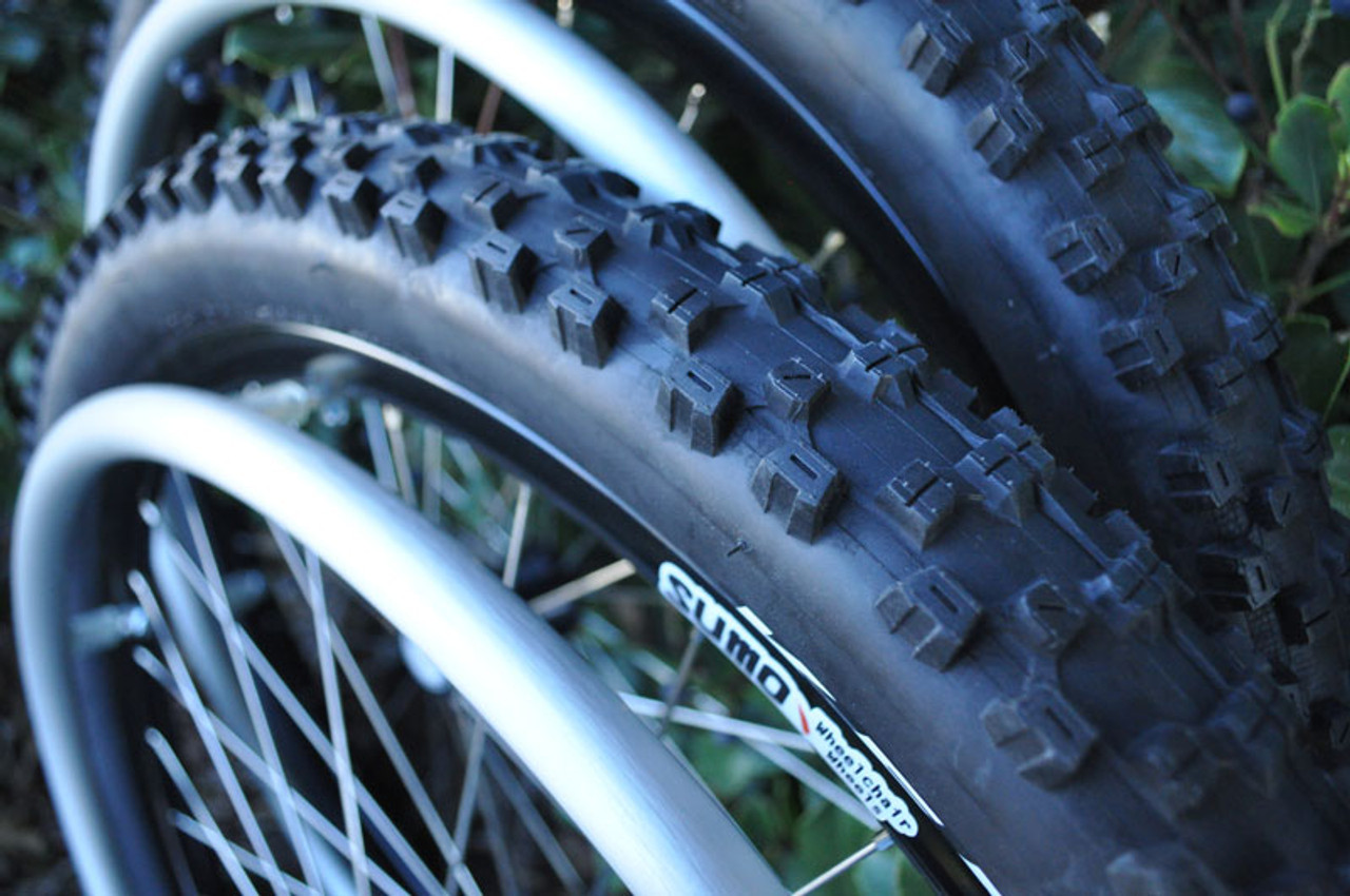 Sumo Wheelchair Wheels with Tyre