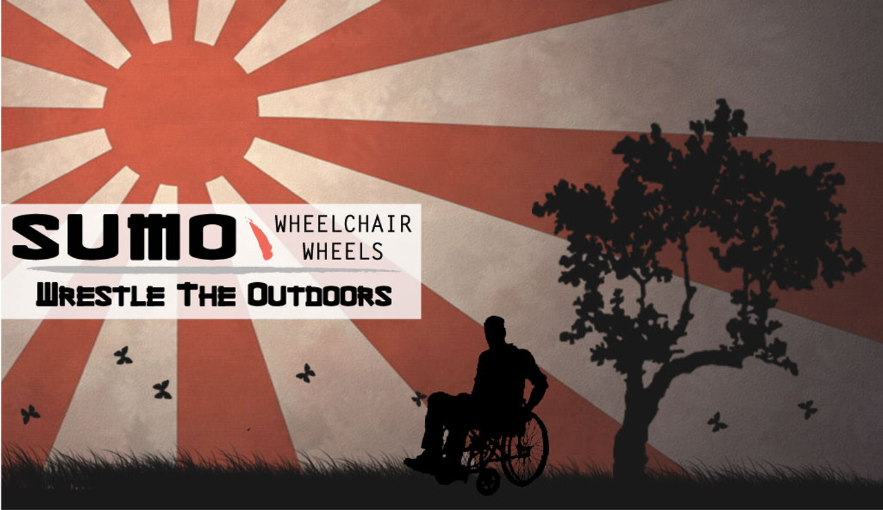 Sumo Wheelchair Wheels with image
