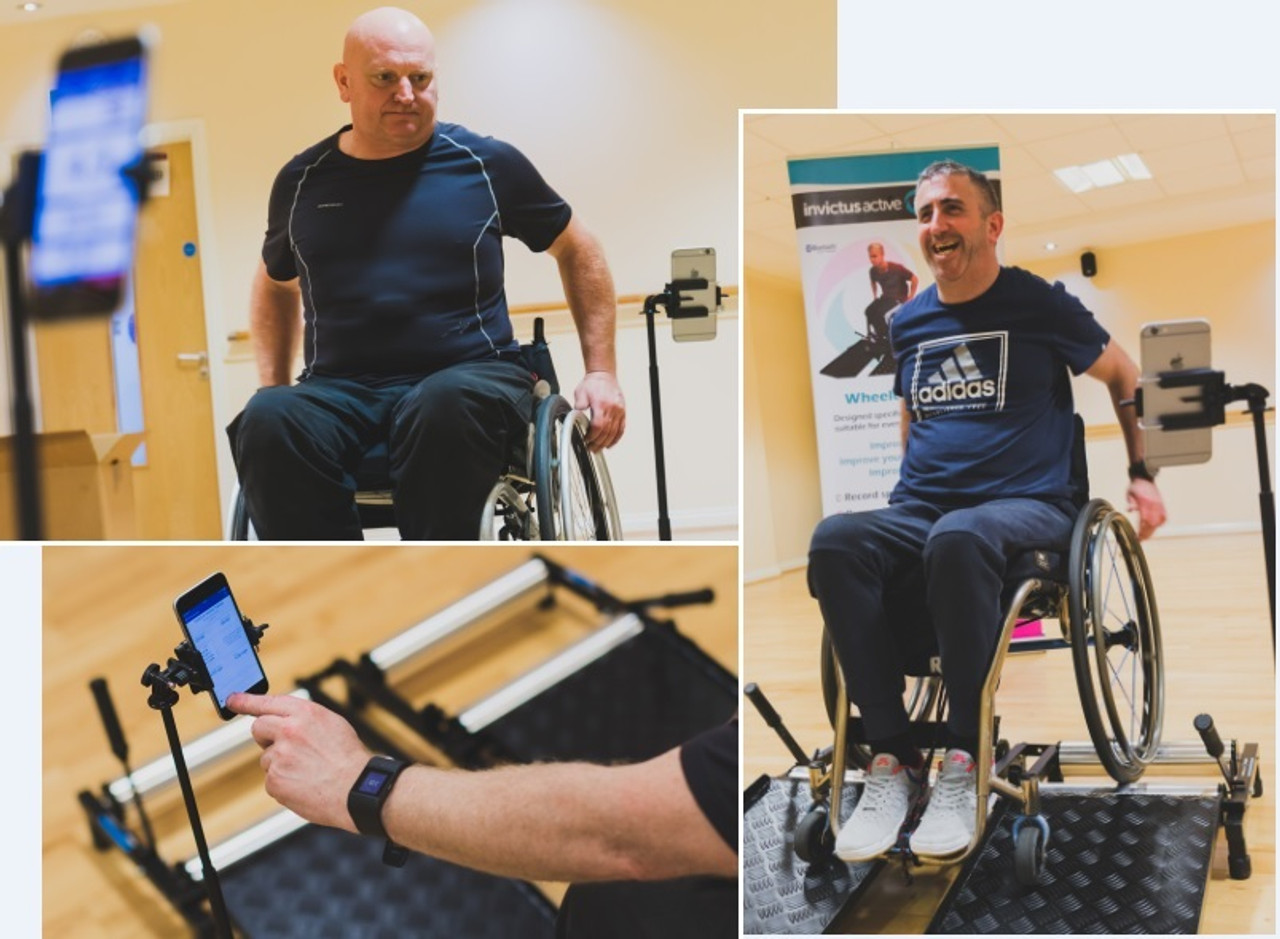 The Invictus Active Trainer for Wheelchair Users