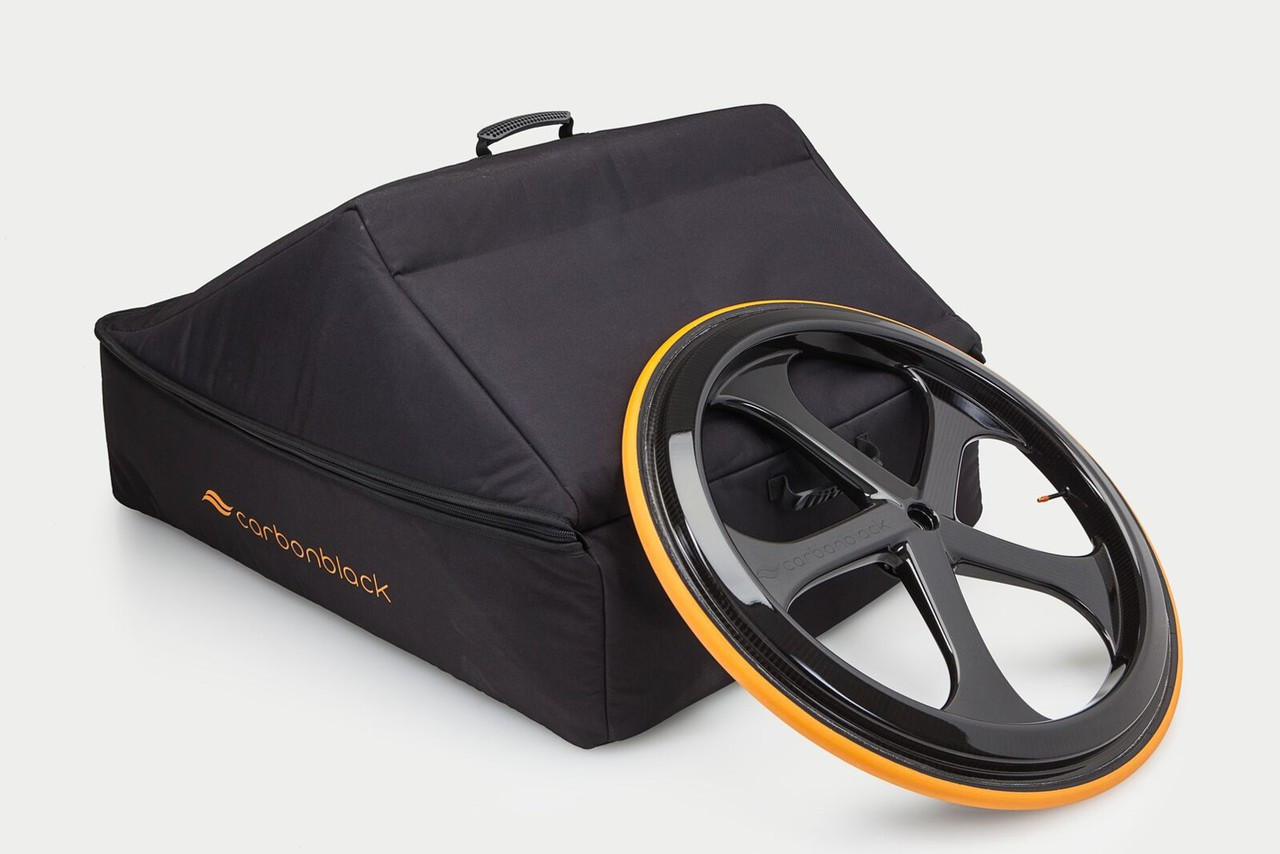 Carbon Black Wheelchair Flight Bag