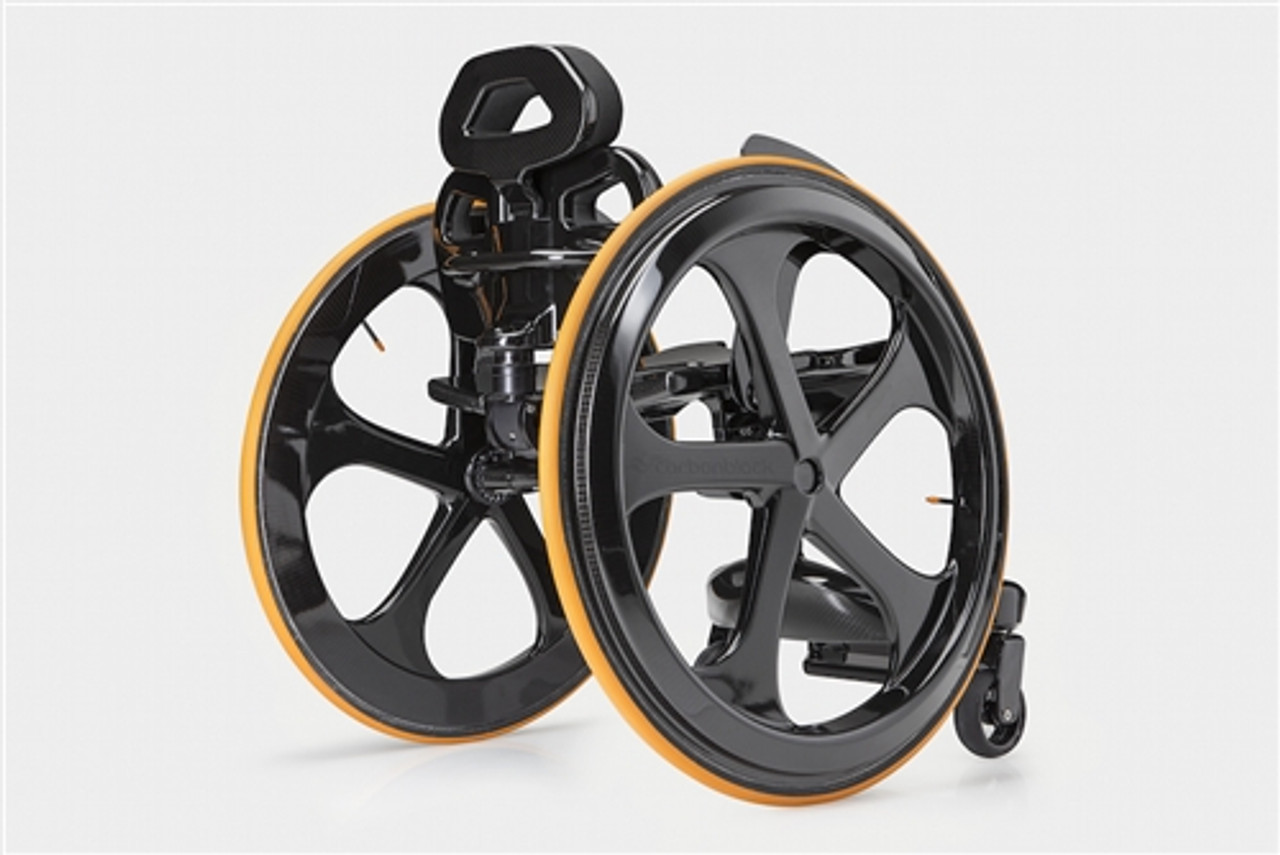 Carbon Black Wheelchair Photo from the Back