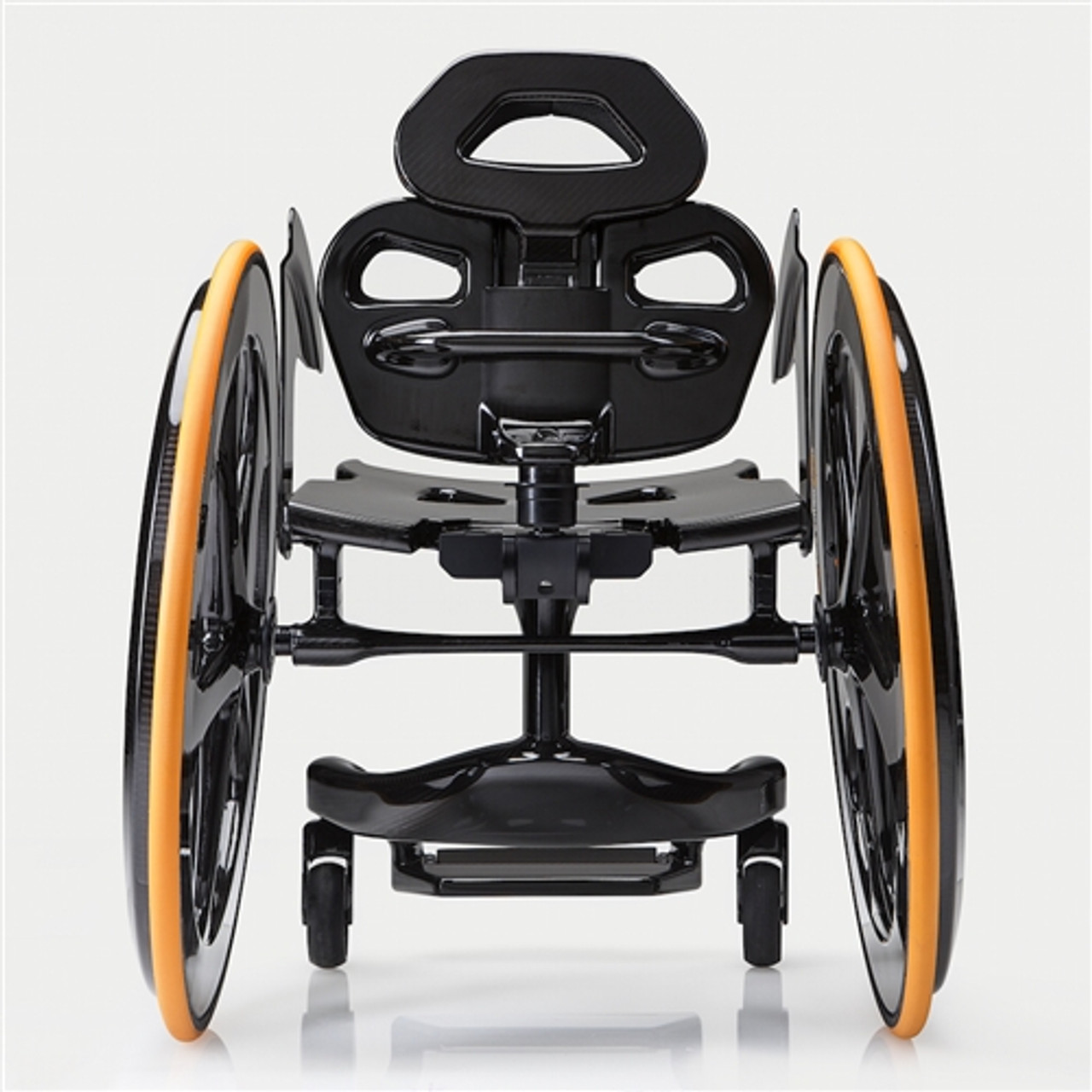 Carbon Black Wheelchair Photo from the Rear