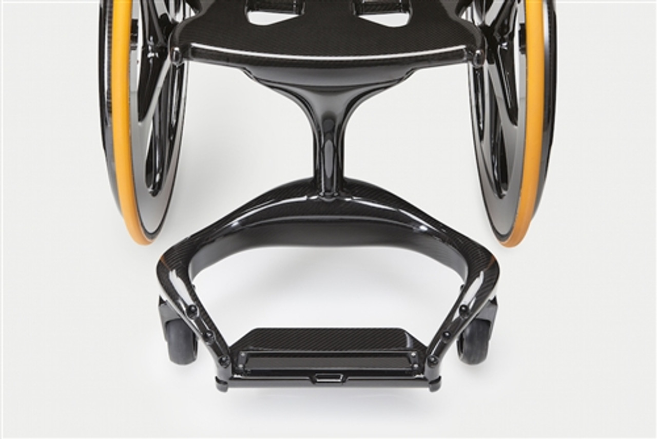 Carbon Black Wheelchair Footplate