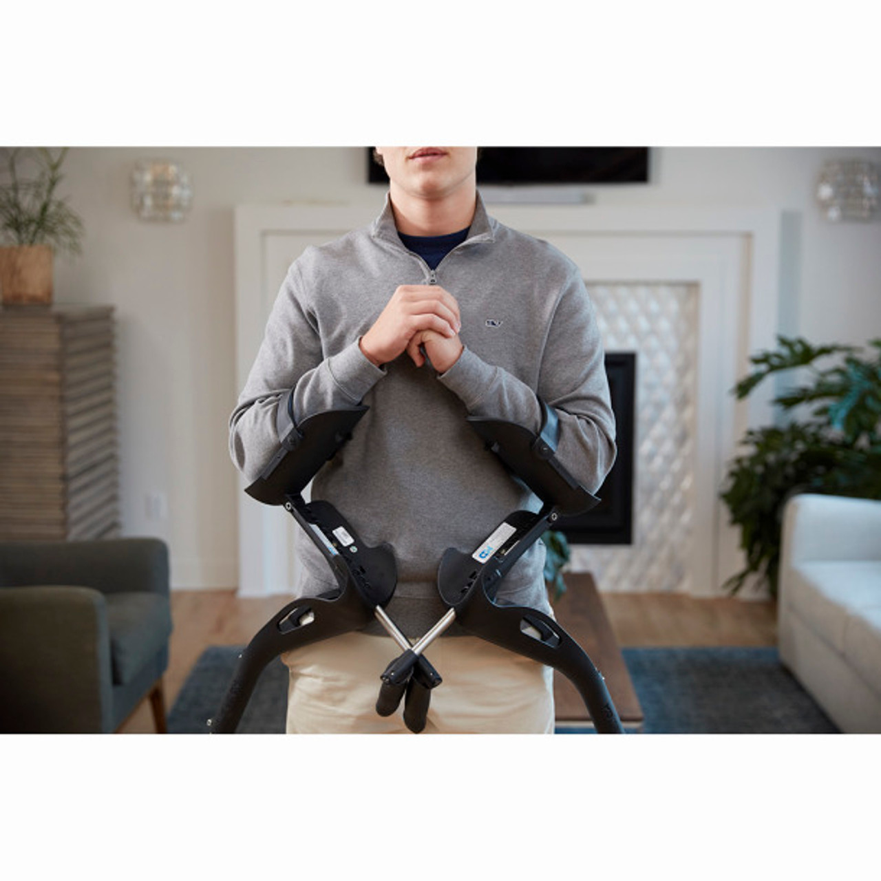 Mobility Designed Forearm Comfort Crutch, by Drive Medical