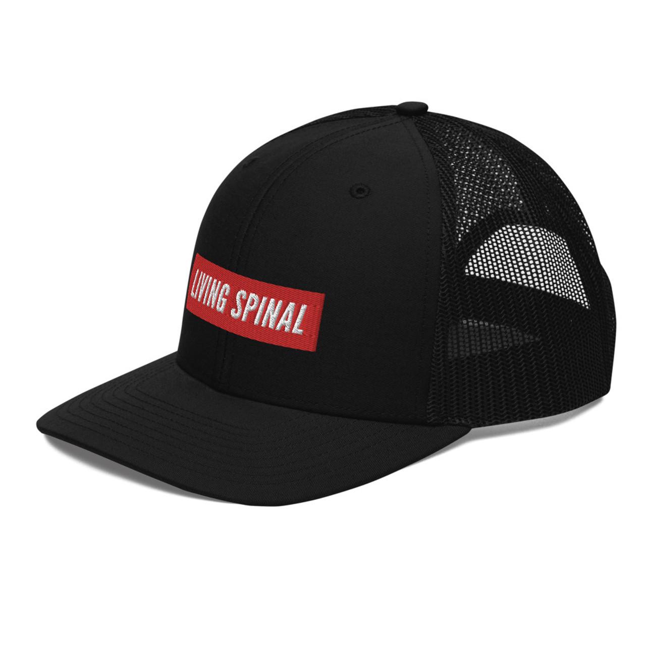 Living Spinal Trucker Cap