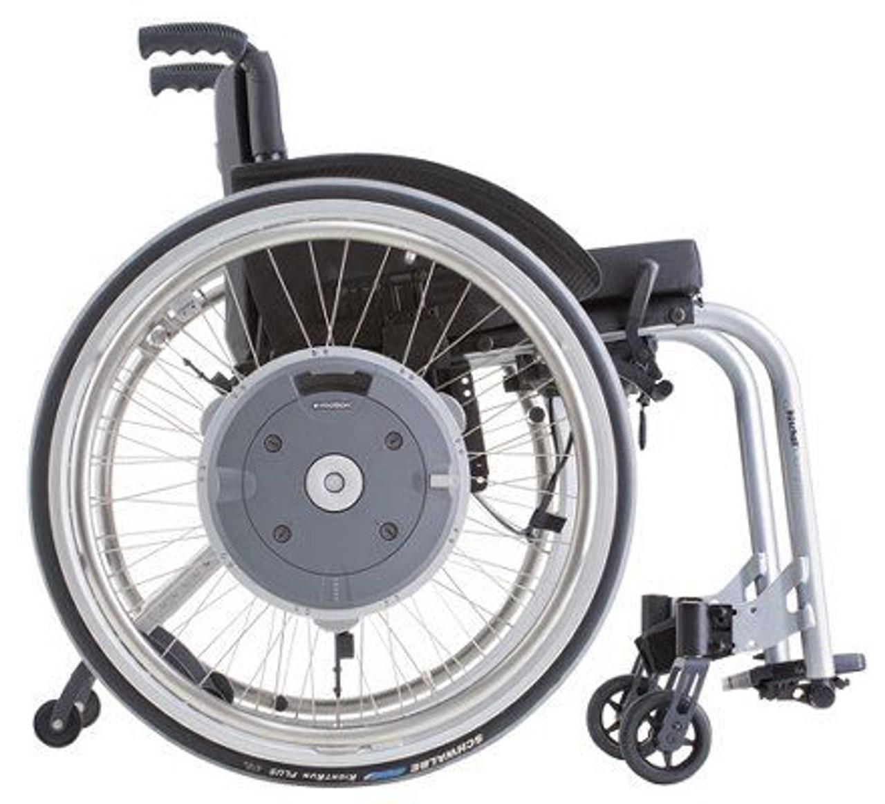 E-Motion M15 Power Assist Wheelchair Wheels Side view