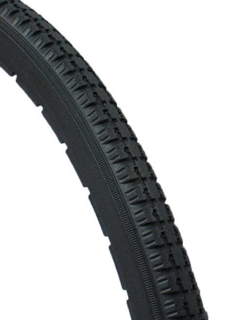 "24 x 1 3/8"" Dark Gray Primo Orion Urethane Street Tire"
