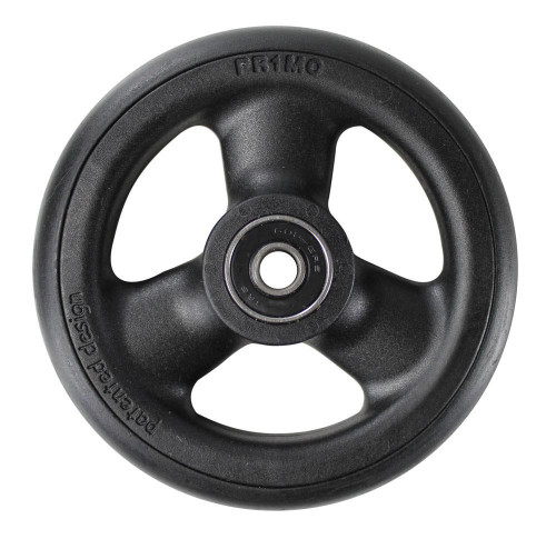 "4 x 1"" HOLLOW SPOKE Caster Wheel Urethane Round Tire"