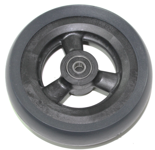 "5 x 1 1/2"" HOLLOW SPOKE Caster Wheel Urethane Wide Tire"