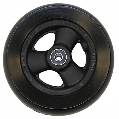 """6 x 1 1/2"""" HOLLOW SPOKE Caster Wheel Urethane Wide Tire"""