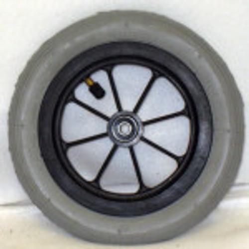"""8"""" x 1 1/4"""" 8 SPOKE CASTER 1 1/2"""" Hub Width Pneumatic Tire / Tube"""