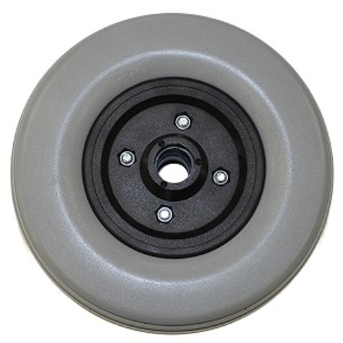 "6"" x 2"" INVACARE Caster Wheel With Offset Bearings Urethane Wide Tire"