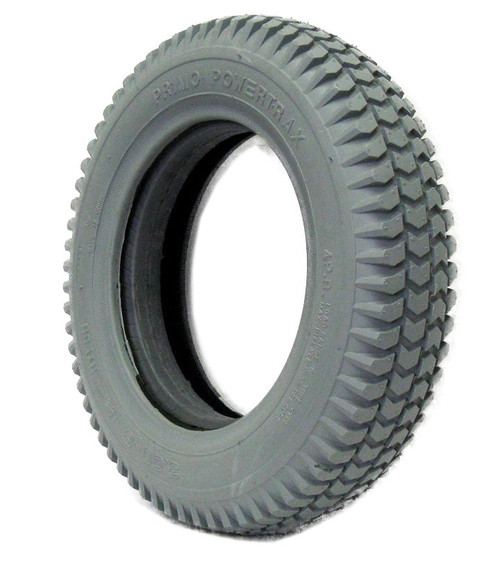 """3.00-8 (14 x 3"""") HEAVY DUTY KNOBBY TIRE Fits Invacare With Keyway"""
