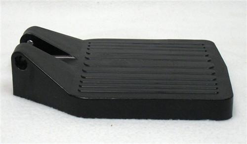 CENTER HINGE BLACK PLASTIC FOOTPLATE