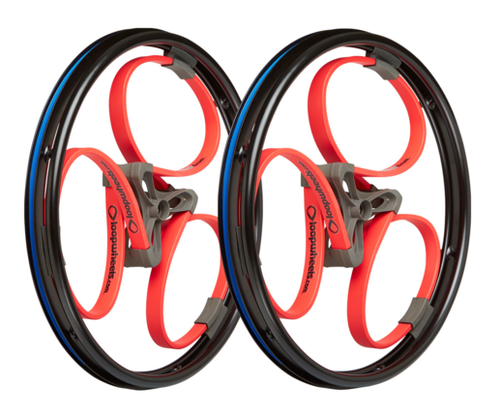 Bright Coloured Loopwheels Classics (pair)