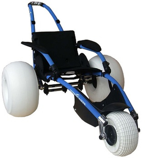 Hippocampe Pair Balloon Wheels With Support