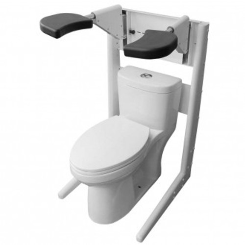 Pants Up Easy Toilet Model - Freestanding