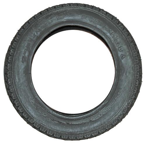 Black Pneumatic Tire - Knobby (Power Express) - T027B