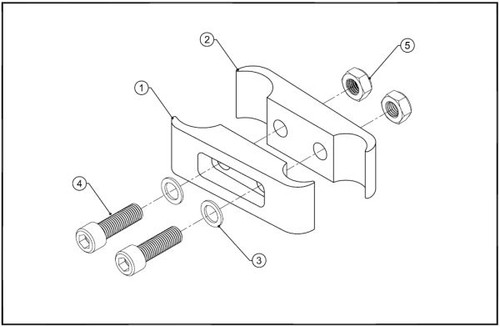 EXTENDED WHEEL LOCK CLAMPS for Tilite Wheelchairs