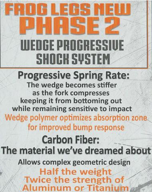Frog Legs - PHASE-TWO Wheelchair  Caster forks (pair)