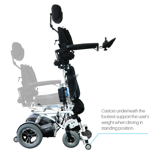 Phoenix II (Standing Power Wheelchair)