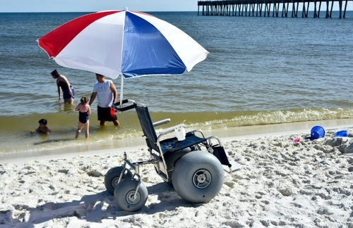 Debug Rigid Beach Wheelchair