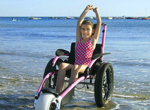 Hippocampe Beach All-Terrain Wheelchair