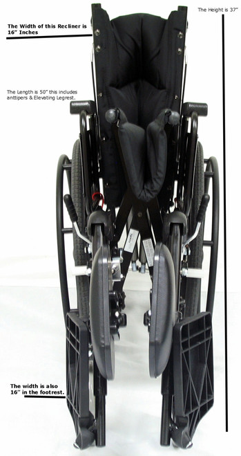 KM-5000 Wheelchair by Karman Healthcare