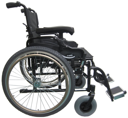 KM8520F - Karman Bariatric Light Weight Wheelchair