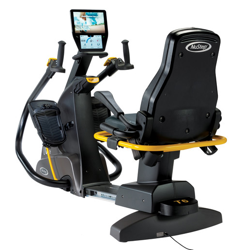 T6 Recumbent Cross Trainer, by NuStep
