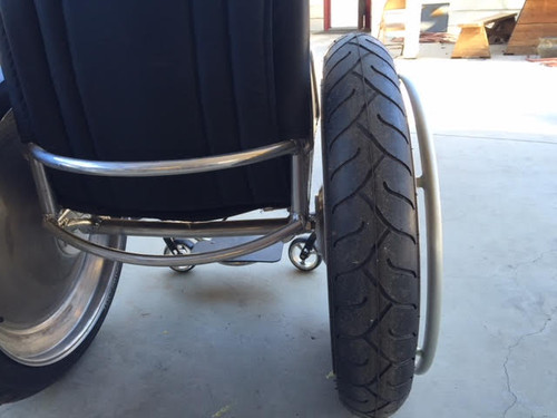 Sumo Beach and snow -  Offroad wheelchair tires - 24""