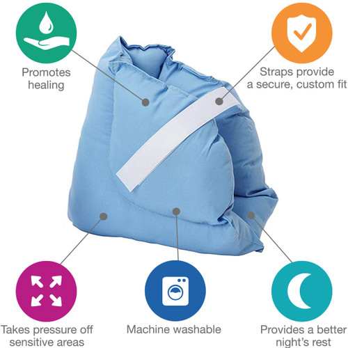 DMI® Soft Comforting Heel Protector Pillows, by Healthsmart