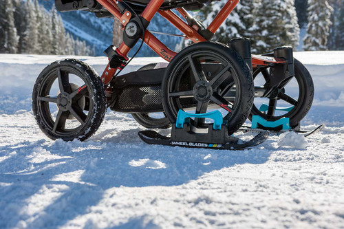 Dealer MSRP Quote Wheel Blades XL - Skis for snow and sand (sold as a pair)