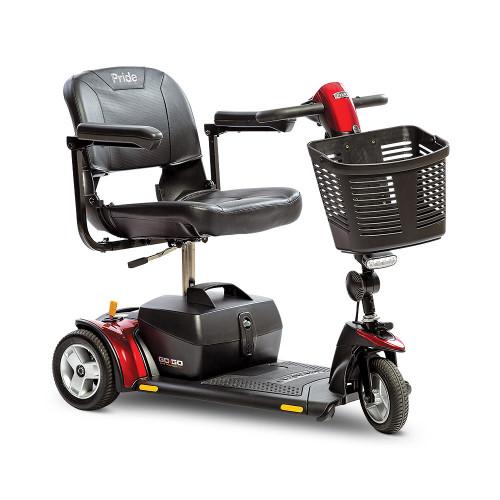 Go Go Elite Traveller Plus 3 Wheel Red