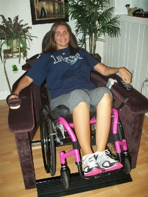 EZ Tipper Deluxe - Fully Upholstered Wheelchair Recliner