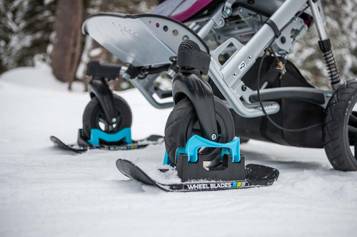 Warehouse Sale - Wheel Blades XL - Skis for snow and sand (sold as a pair)