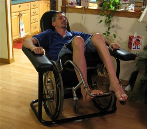 EZ Tipper Wheelchair Recliner